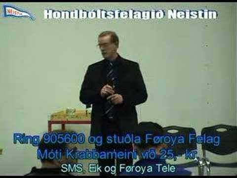 Neistin stuðlar Føroya Felag