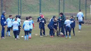 VELATE RUGBY U12 VS CUS 2018 DIC COLOGNO 2T