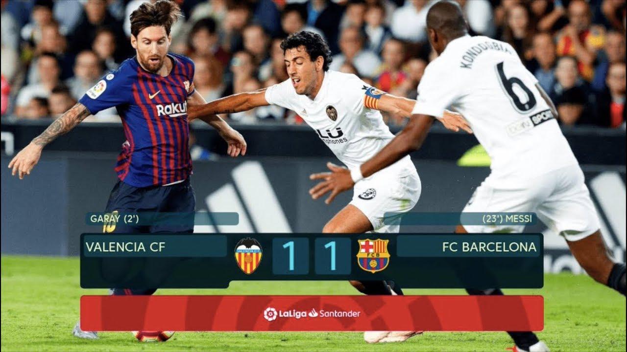 Valencia Vs Barcelona   Match Review