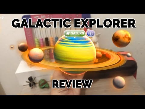 Galactic Explorer Review - Hold Planets in Your Hand! (Merge Cube)