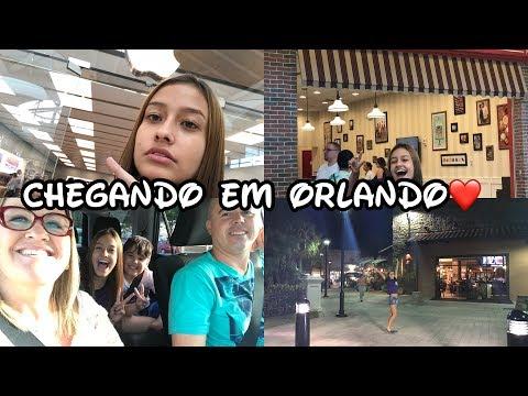 #1 VLOG DOS EUA: Chegada em Orlando, Outlet, Comprando o IPhone 7 Plus