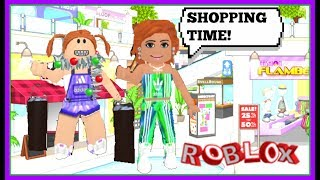 BACK TO SCHOOL SHOPPING FOR THE TWINS MADE ME BROKE! (ROBLOX ROLEPLAY)