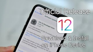 iOS 12 - Official Update on iPhone Device - របៀបតំ…