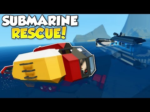 SINKING SHIP SUBMARINE RESCUE! - Stormworks: Build and Rescue Multiplayer Gameplay - Ship Survival en streaming