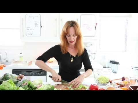 longest most relaxed video on salad | raw food | dara dubinet