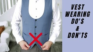 How To Wear A Vest For Men | W…