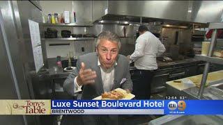 Tony's Table: Luxe Sunset Boulevard Hotel