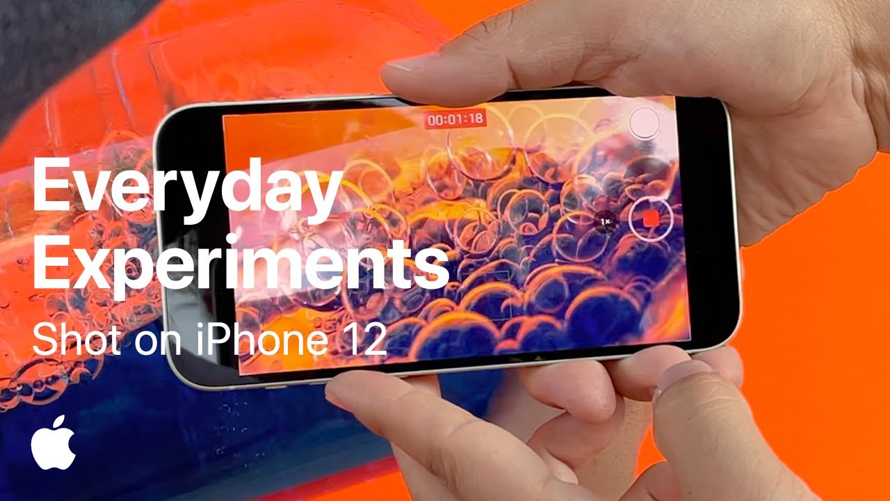 Vidéo Apple: Shot on iPhone 12 — Everyday Experiments. Get creative at home.
