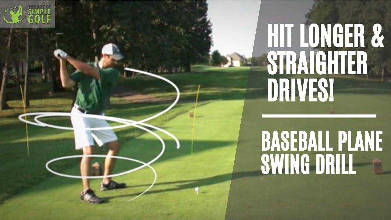Golf How To Hit Driver Longer And Straighter With Baseball Swings Alex Fortey