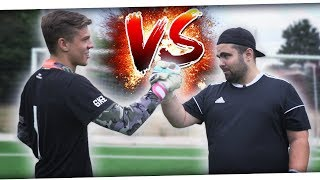 Das TORWART BATTLE vs GOALKEEPERZ 🔥 YouTube Keeper vs Kreisliga Keeper ⚡ PMTV