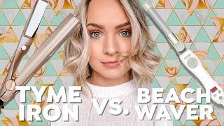 Tyme Iron vs. Beachwaver Review - Kayley Melissa