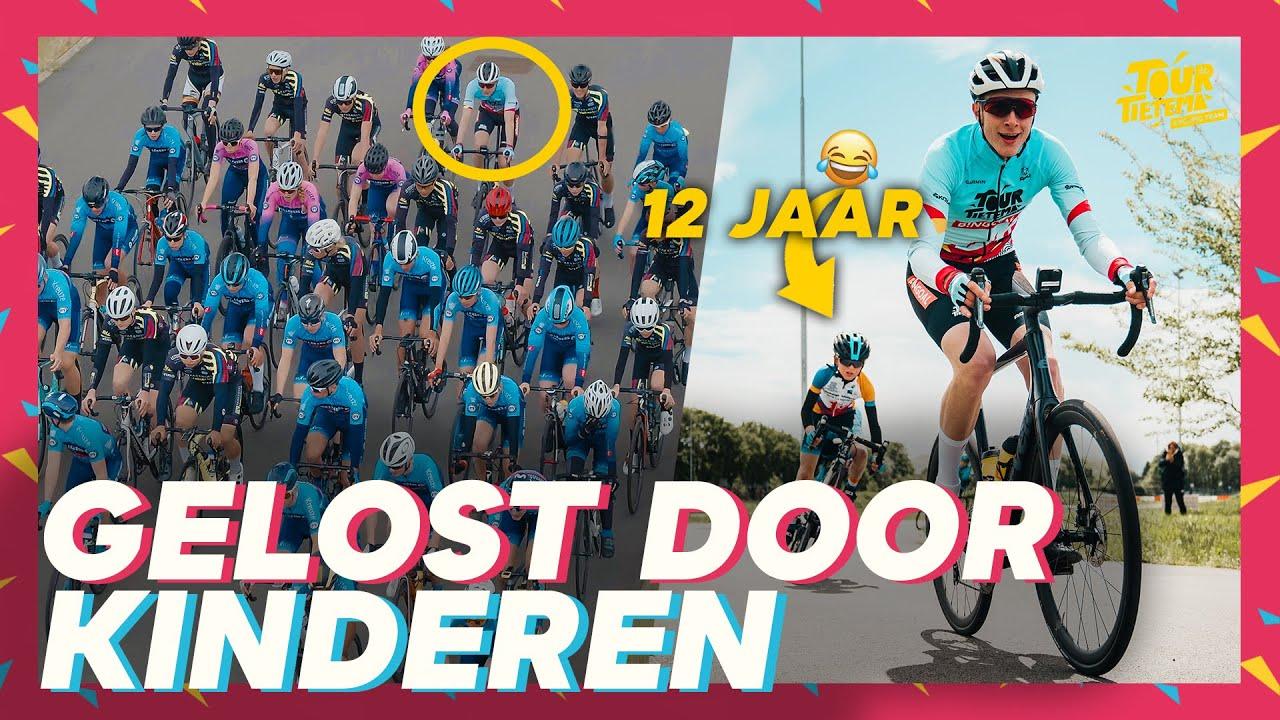 Download DEVIN VOOR HET EERST IN KOERS 😂 | TOUR DE TIETEMA CYCLING TEAM #10