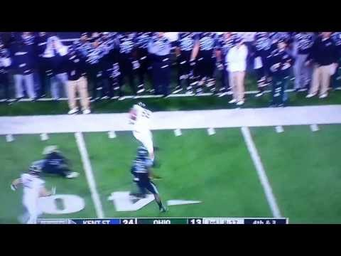 The Coolest Fat Guy Touchdown Ever (Kent State vs. Ohio)