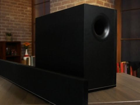 Vizio S4221w-C4 - An excellent budget sound bar, if it fits