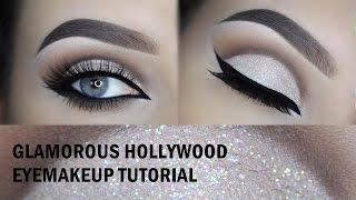 Hollywood glam eyelook - Using Tartelette Matte eyepalette