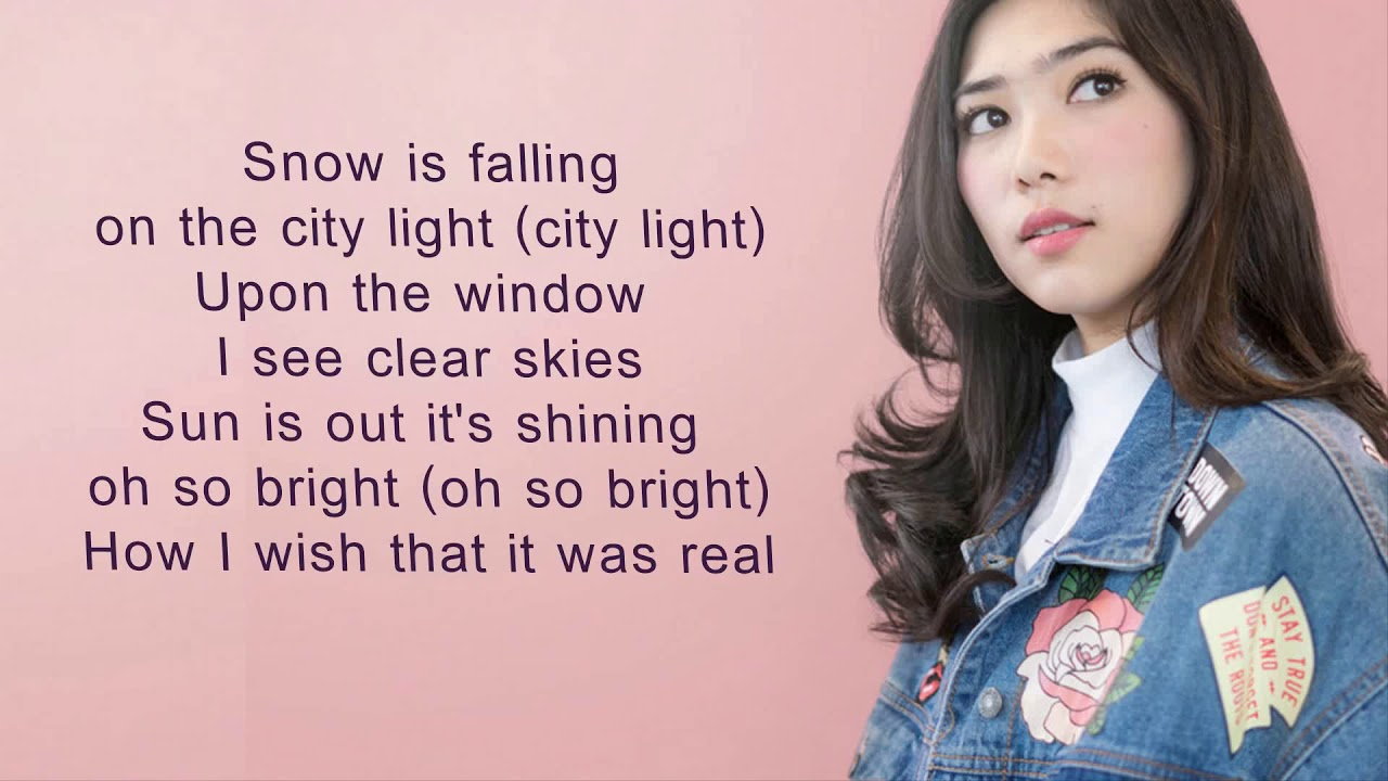 isyana sarasvati winter song lyrics youtube