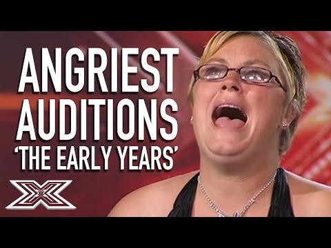 Angriest Acts: X Factor UK 'The Early Years'