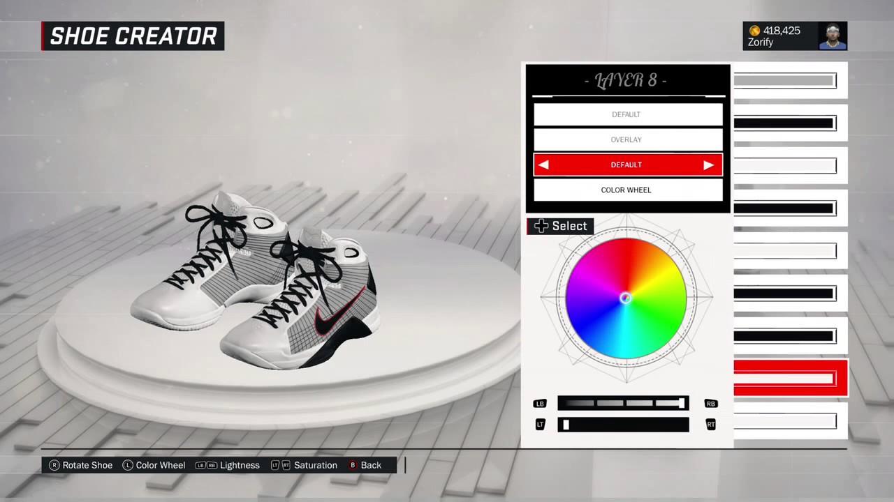 NBA 2K17 Shoe Creator - Nike Hyperdunk 2008