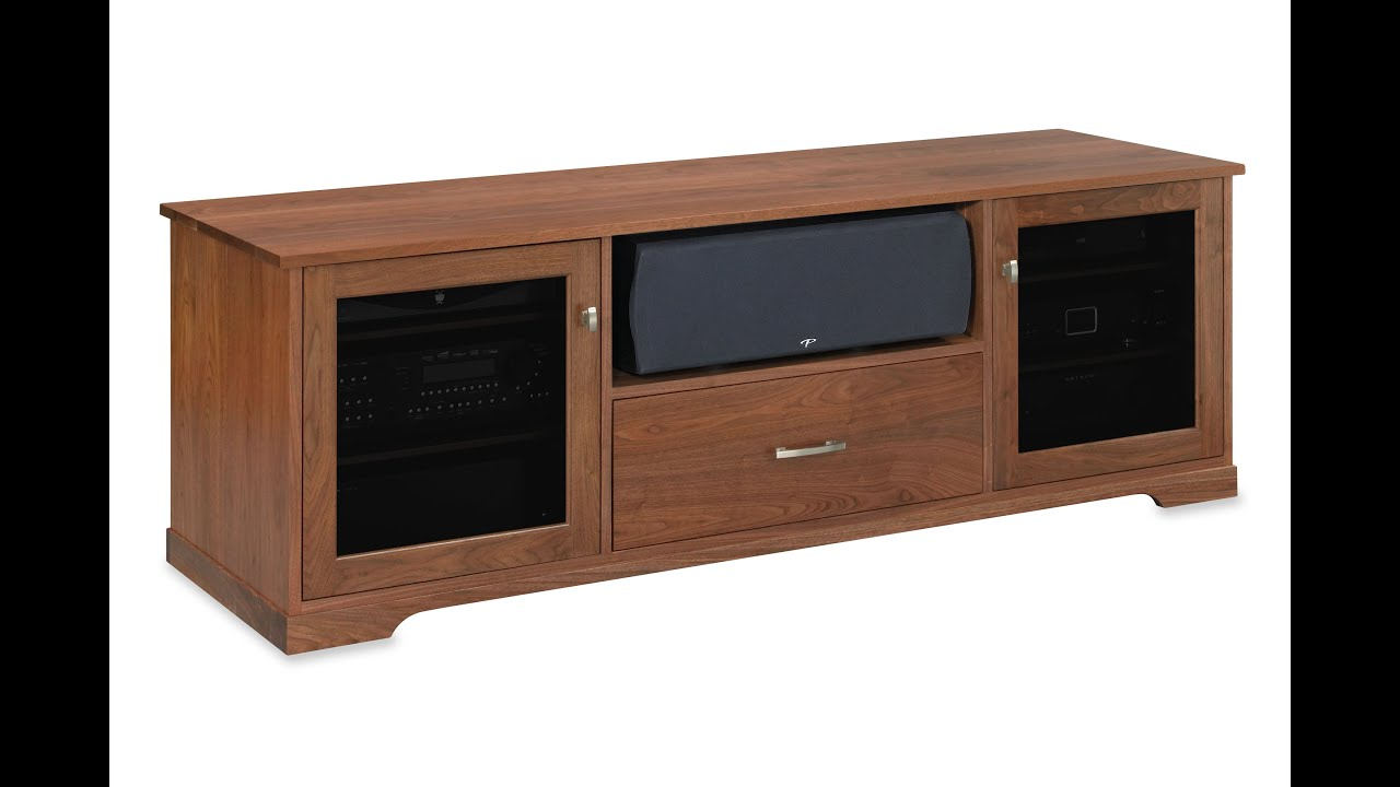 Incroyable Horizon EX 72 Inch Solid Wood Media Console By Standout Designs   A Virtual  Tour