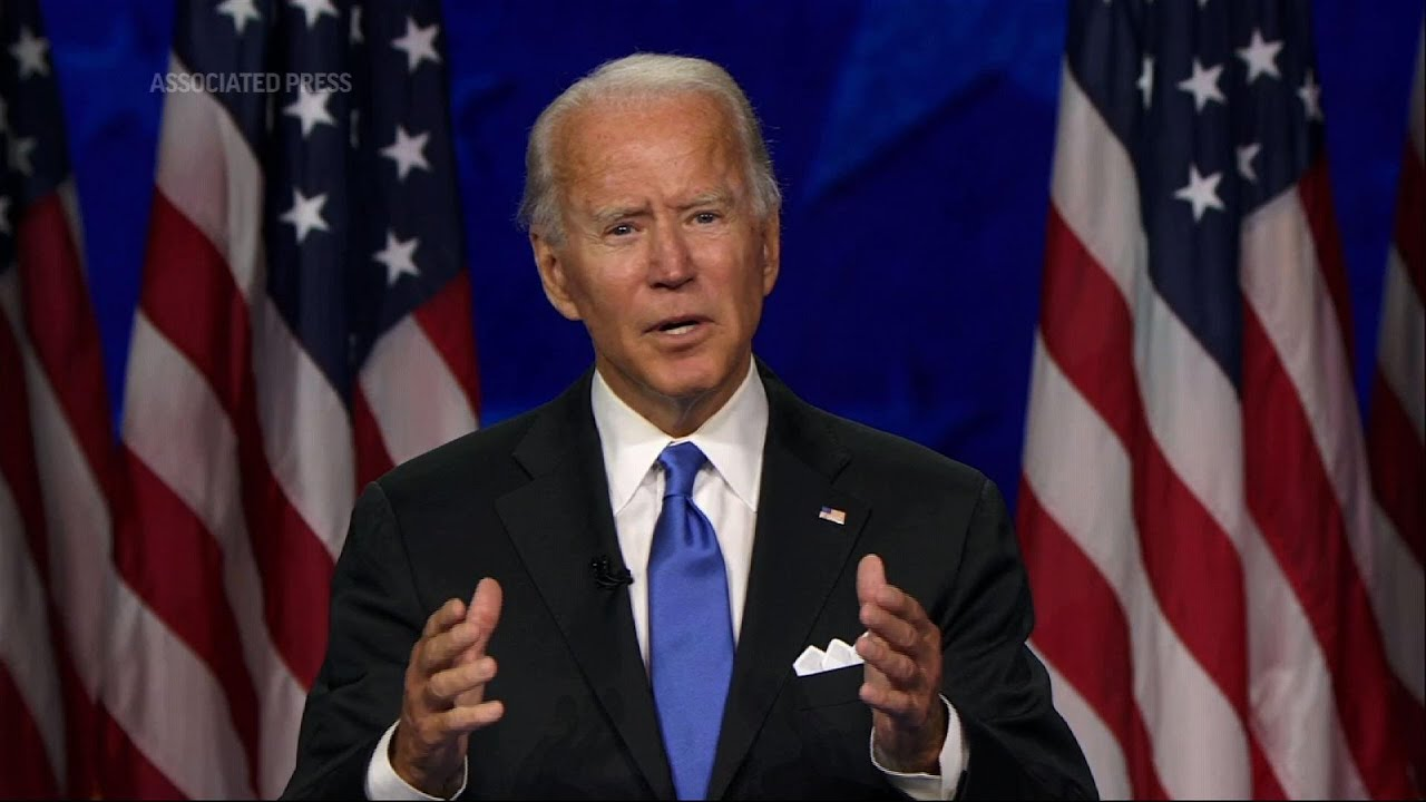 Joe Biden Vows to Unite America as President