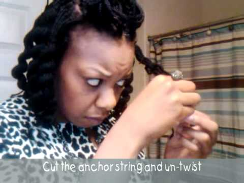 Curling Yarn Braids With Yarn Yep Yarn Youtube