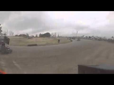 Outlaw Kart flip