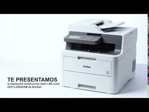 Exclusive / En Amazon/ Brother DCP-L3550CDW - Impresora multifunción Wifi, USB 2.0, 512 MB, 800 MHz,