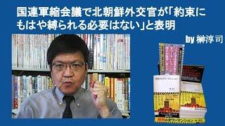 国連軍縮会議で北朝鮮外交官が「約束にもはや縛られる必要はない」と表明 by榊淳司 thumbnail
