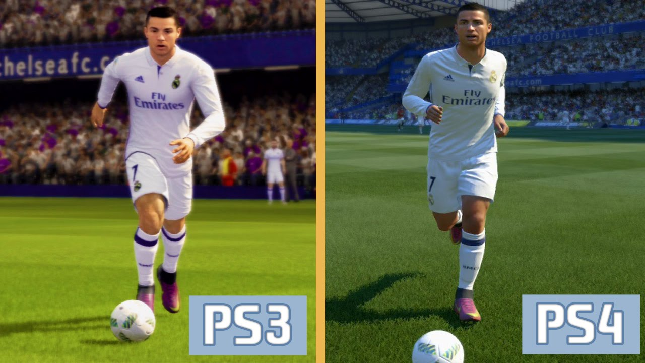 fifa 17 ps3 vs ps4 graphics and gameplay comparison