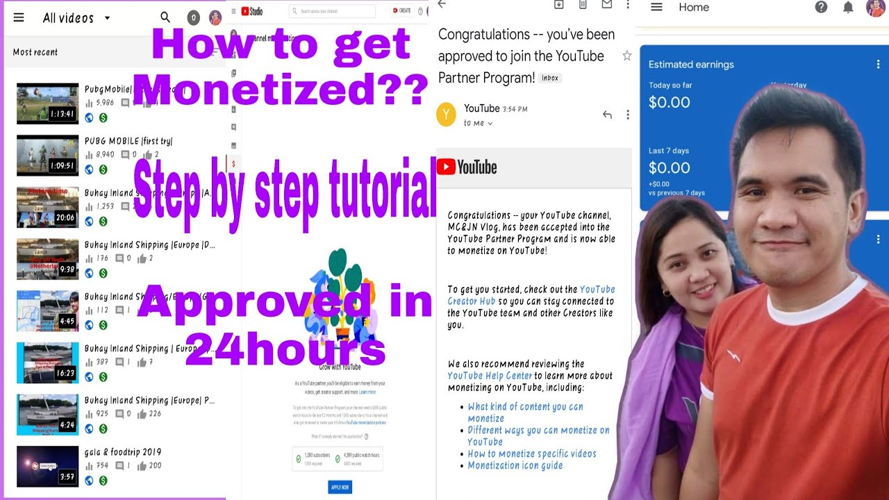 How to get monetized? |step by step tutorial |approved in 24hours |