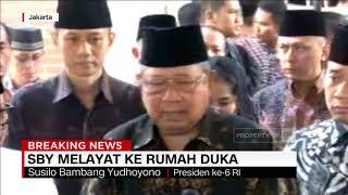 SBY Melayat ke Rumah Duka Bj Habibie: Kita Kehilangan Lagi Putra Terbaik Bangsa