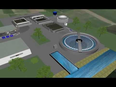 3D Simulation of Water Treatment Plant for BIBS project