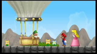 Super Mario Bros Wii   Super Mario Bros Wii  WORLD 8 PART B BOWSER CASTLE  AND CREDITS    2020 01 26