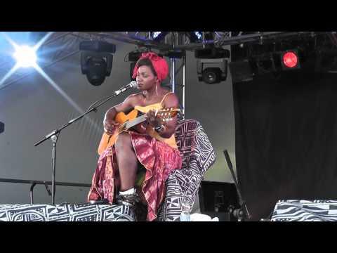 Kareyce Fotso - Mayole - Live @ WOMAD Charlton Park 2012
