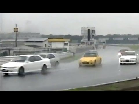 Accord Euro R debut battle - Integra R, S2000, Altezza, Legacy Tsukuba 2000