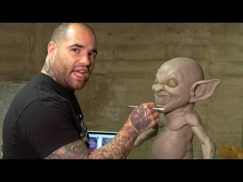 Monster Lab #3: Sculpting Teeth in Clay