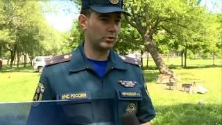 Любителей шашлыков оштрафовали в парке Городов-Героев.