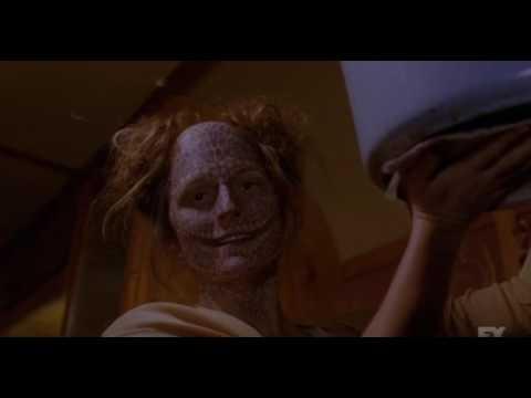 American horror story freak show - freak women get revenge on penny's farther