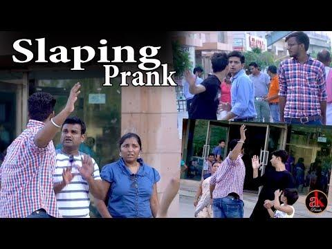 Slapping People In Public Prank | Pranks In India | Latest Ak Pranks Video 2017
