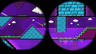 ¡GEOMETRICAL DOMINATOR EN 360º! Geometry Dash vídeo 360º (3D) - Bycraftxx