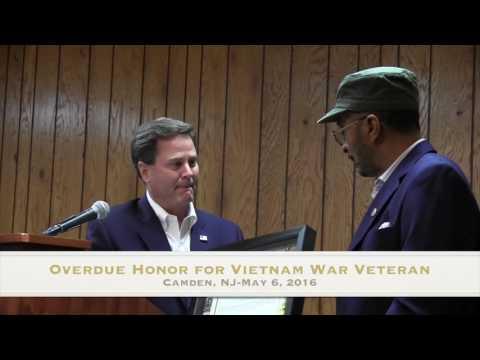Overdue Honor for Vietnam War Veteran