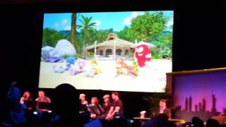 Sonic Boom 2014- live cast reading part 1