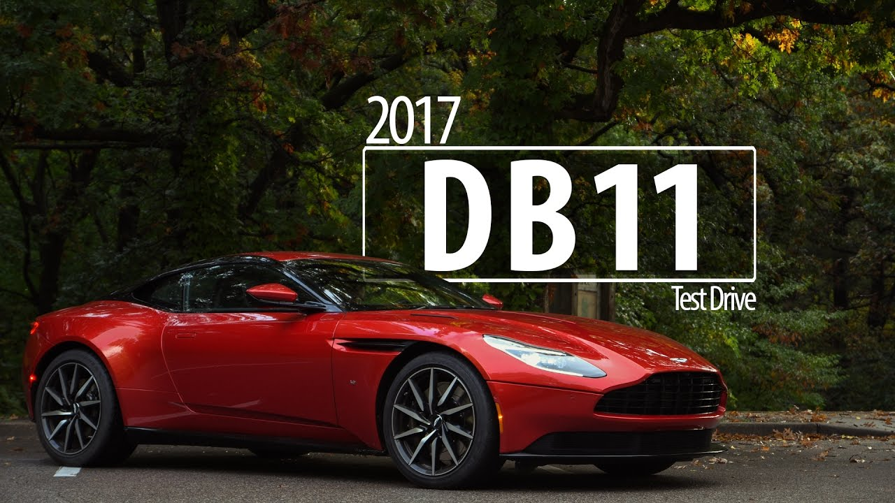 2017 Aston Martin Db11 Driving Review Road Test Youtube