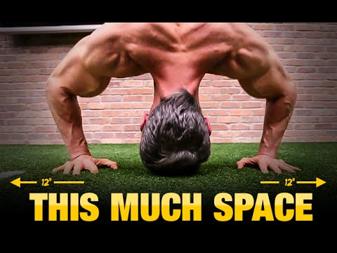 Bodyweight Workout for Tight Spaces (UPPER & LOWER BODY!)