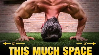 Top 10 Exercises - Bodyweight Workout for Tight Spaces (UPPER & LOWER BODY!)