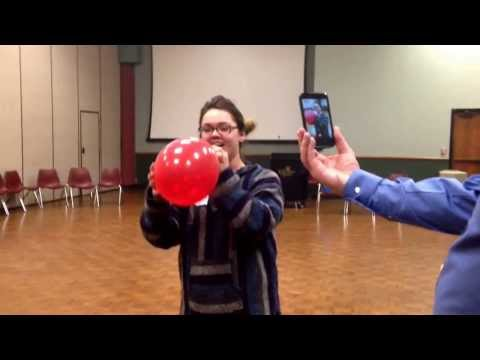 Most Hilarious Way To Get Rid Of Left Over Balloons