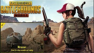 PUBG MOBILE New Map Update: Miramar Desert - English Version APK Download + Gameplay Android & i