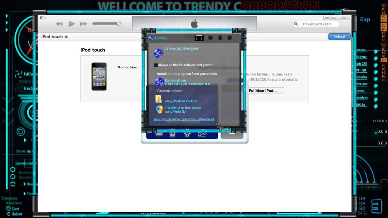 Cara Reset Password iPhone/IPOD - YouTube