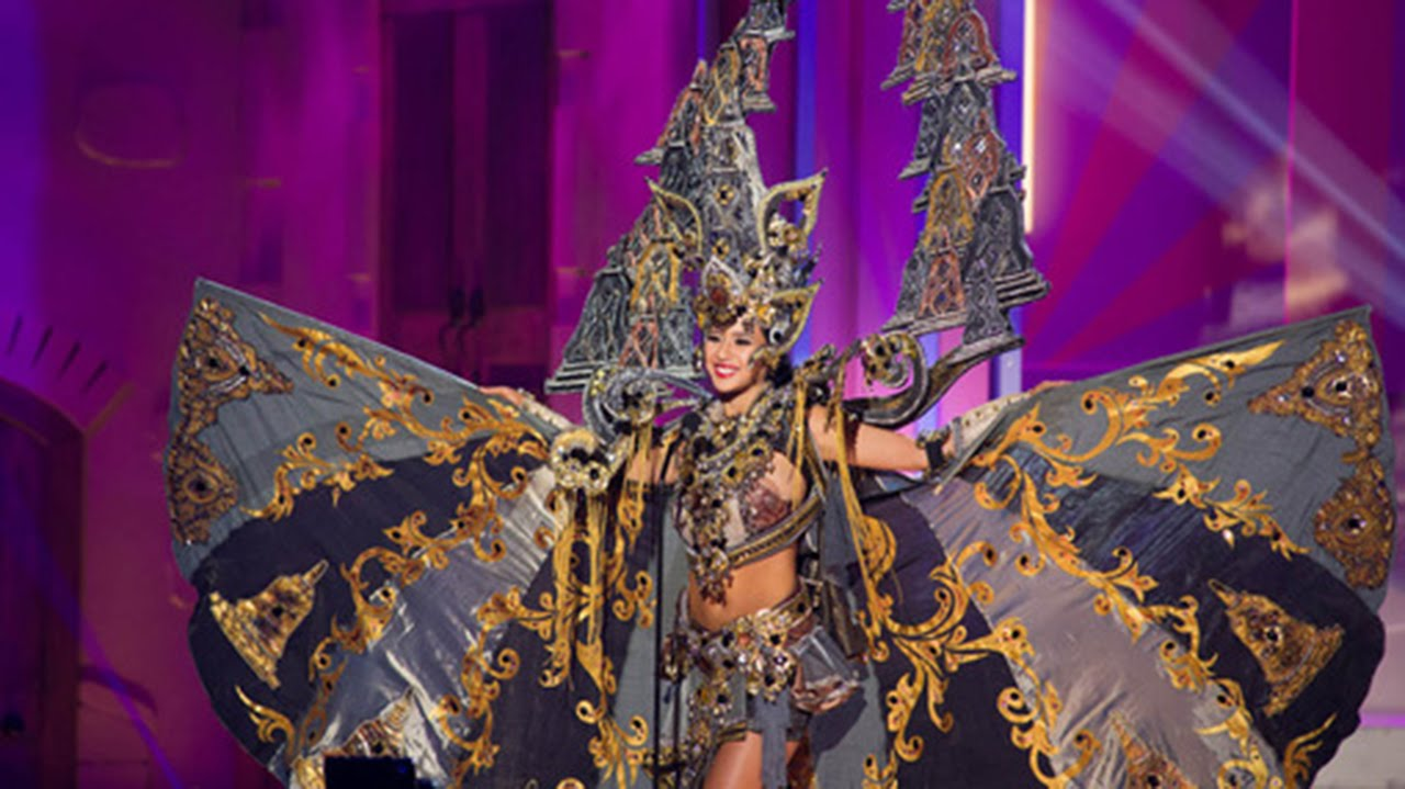 Miss Universe 2017 Won >> Top 5 Best National Costumes Miss Universe 2014/2015 (Official) - YouTube