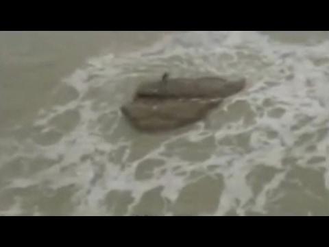 На Средиземном море в Израиле, туристы заметили русалку